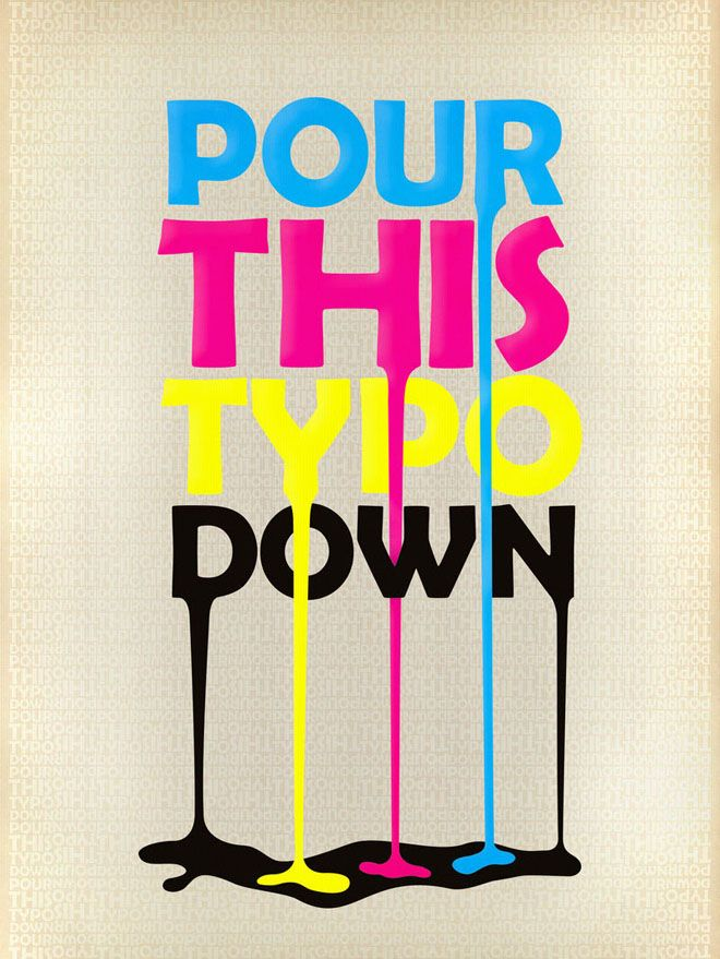 Typographic Posters Design Examples For Your Inspiration
