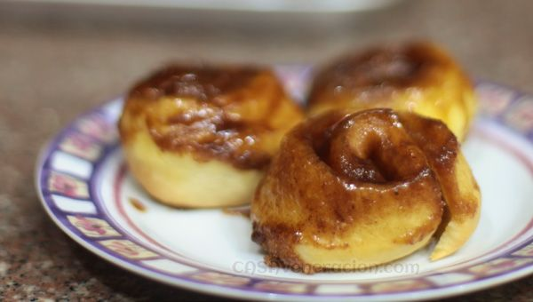 Sticky buns with butter, brown sugar and cinnamon | Recipe
