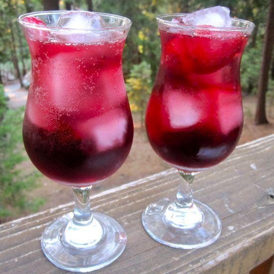 Happy Hour: Strawberry Peach Sangria