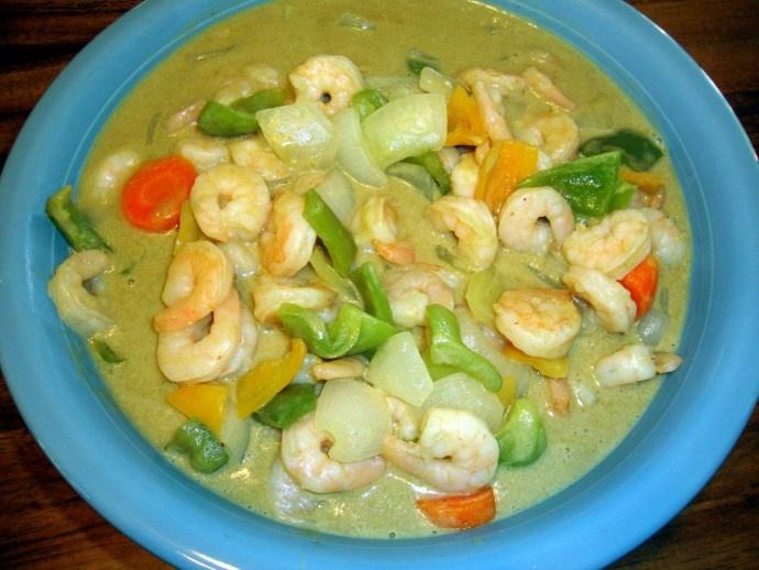 Thai Green Curry Shrimp Recipes — Dishmaps