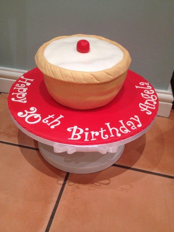 Pin Cherry Bakewell Tartelettes With Pit Ice Cream Milkshakes Cake ...
