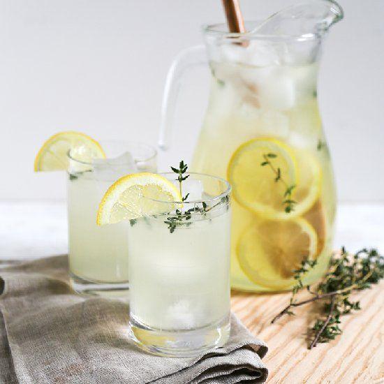 Spring Thyme Lemonade | Spring Recipes | Pinterest