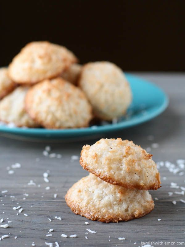 Coconut Macaroons...substitute tapioca syrup for corn syrup and add ...