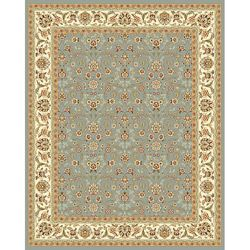 @Overstock - Traditional Persian and European designs enhance any living room or home decor Rug features floral motif set on light blue background with ivory border Enhanced polypropylene area rug construction keeps dirt outhttp://www.overstock.com/Home-Garden/Lyndhurst-Floral-Motif-Greyish-Blue-Ivory-Rug-8-x-11/2241799/product.html?CID=214117