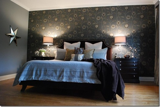 Pin by remodelaholic com on bedrooms pinterest for Wallpaper for walls of bedroom