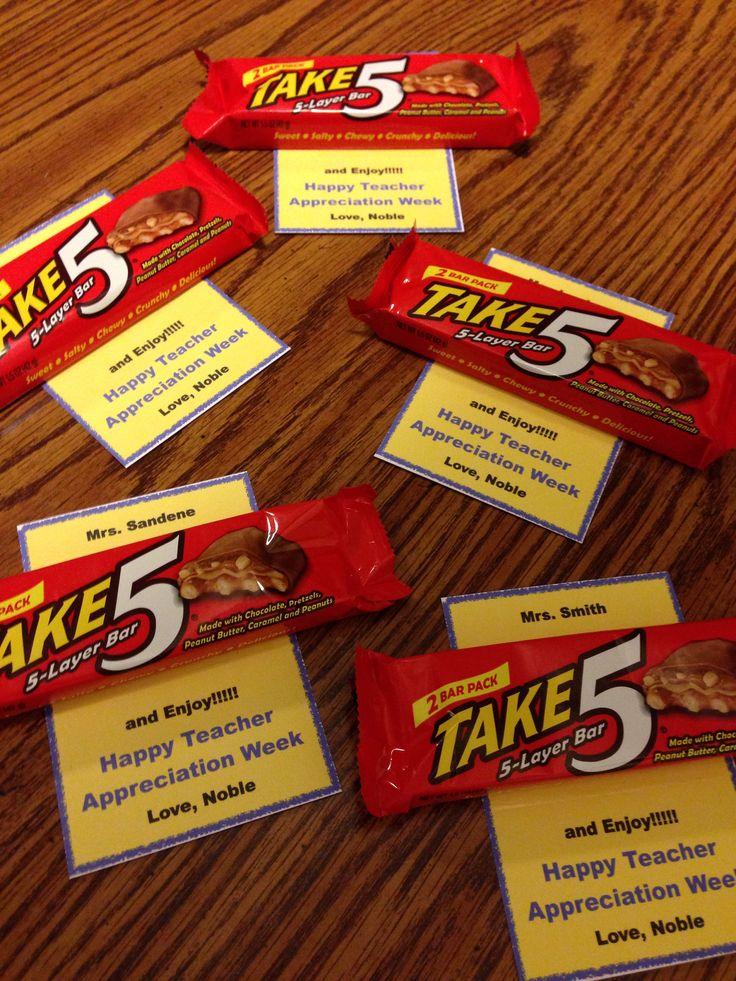 Teacher Appreciation Week 2014!!! | Teacher Appreciation | Pinterest
