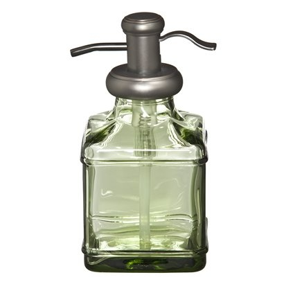 Green Antique Glass Soap Dispenser Things I Want For
