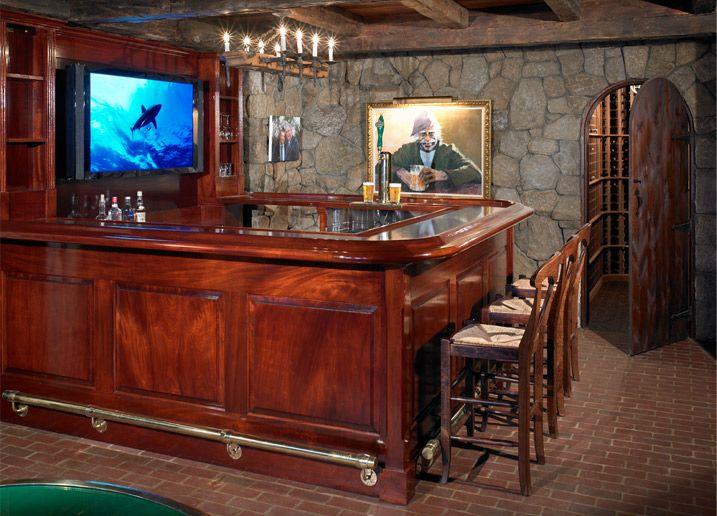 Man Cave Bar Designed For Dad Pinterest