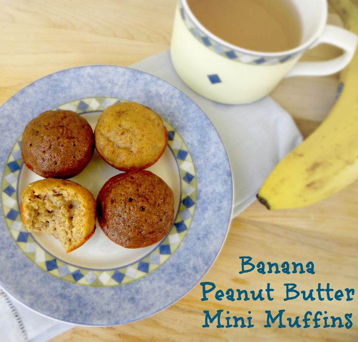 ... Banana Muffins & Peanut Butter Banana (chocolate chip) Muffins