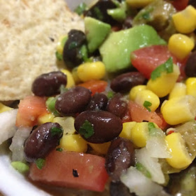 COWBOY CAVIAR 1 can black beans 1 can pinto beans 1 can chick peas 1 ...
