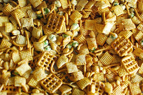 Sriracha Chex Mix- must make for the man