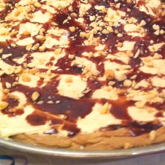 Chocolate Peanut butter cookie pizza | My dentist
