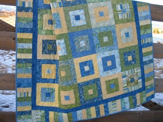I love handmade quilts.