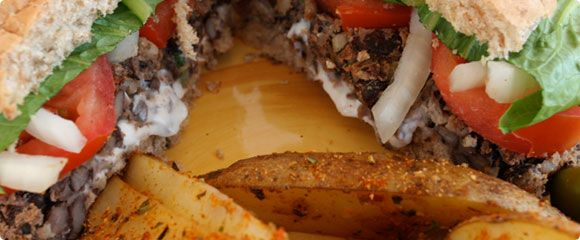 Best Black Bean Veggie Burger!