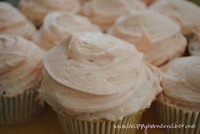 Sprinkles Strawberry Cupcake Recipe | Cakes/Cupcakes | Pinterest