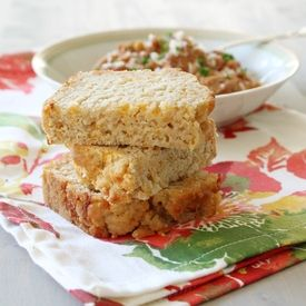... cheesy beer bread to serve alongside your favorite soups and stews