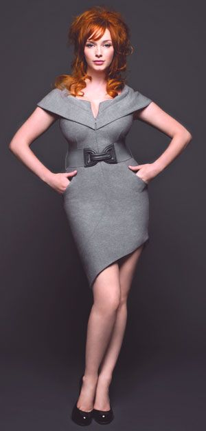 Christina Hendricks - curvy and proud of it. What a stunning woman!