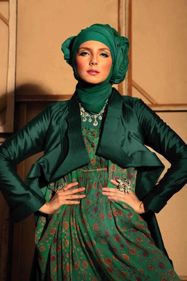 Batik pattern silk chiffon gypsy dress and batik pattern cocoon ...