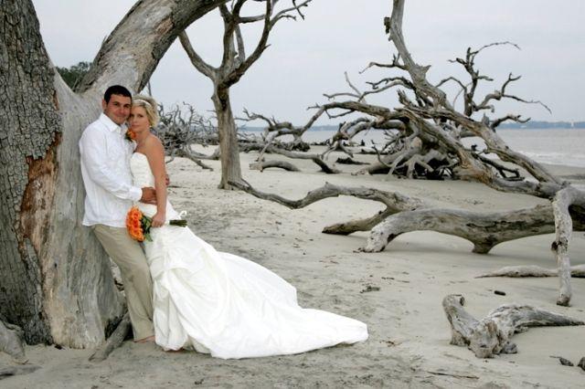 Driftwood Beach Wedding Jekyll Island