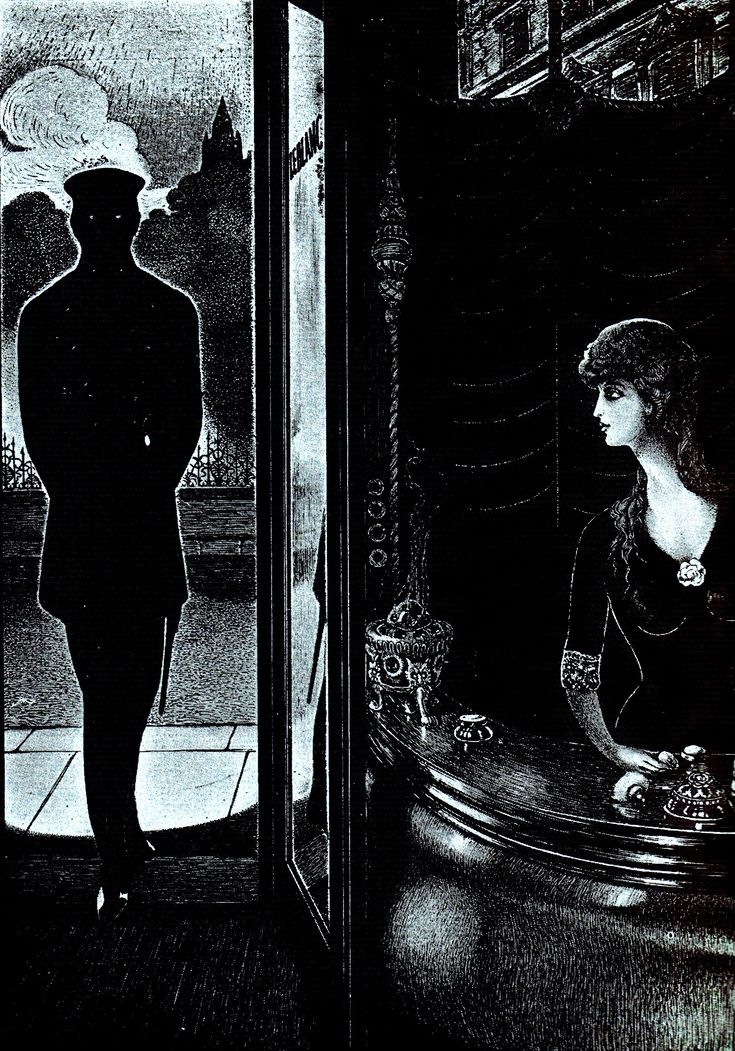 edgar allan poe illustrations - photo #14