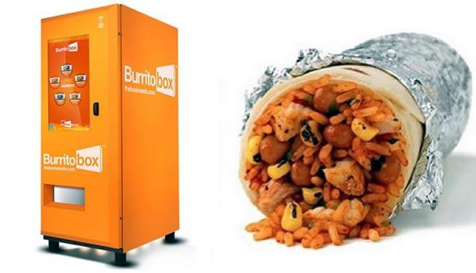 burrito box vending machine