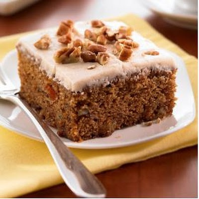 Applesauce Spice Cake | recipes | Pinterest