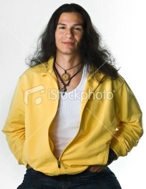 Native American Male Models