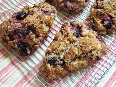 ... Vanilla Cake: Lavender Scented Blackberry Coconut Pecan Scones