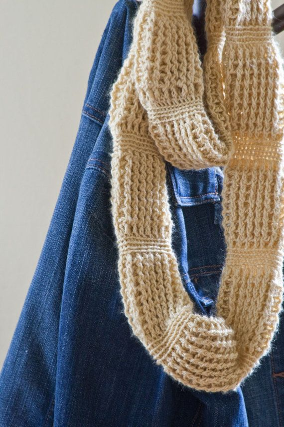 Crochet Scarf Patterns With Cables : Crochet cable scarf pattern