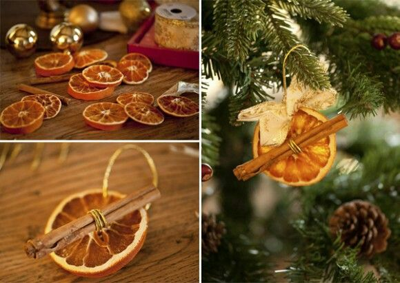 Orange slice Christmas decoration | Christmas decoration ideas | Pint ...