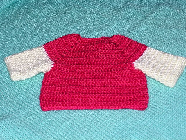 Free Crochet Baby Pullover Sweater Patterns