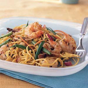 Cold Asian Noodle Salad with Ponzu Vinaigrette | Recipe