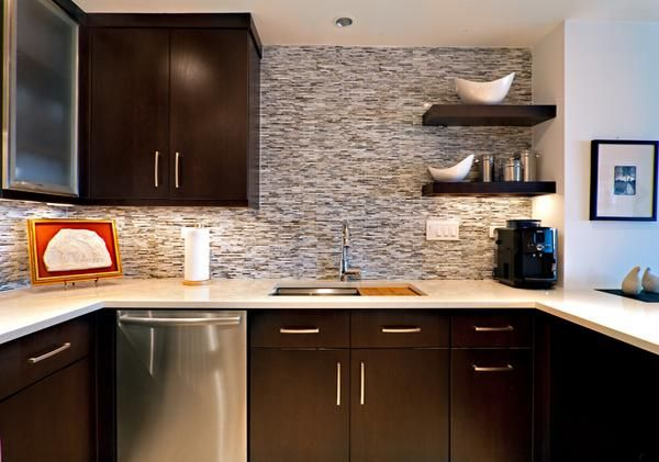 desain dinding dapur