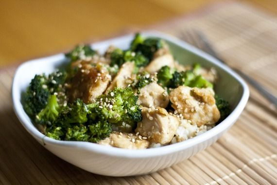 Lighter Sesame Chicken; no breading or frying the chicken | My Little ...