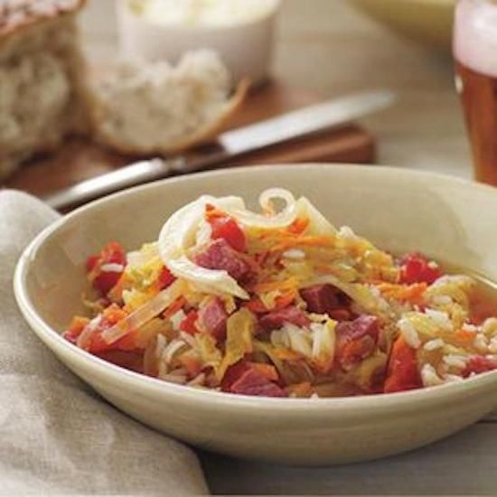 St. Patty's Corned Beef and Cabbage Soup | Recipe