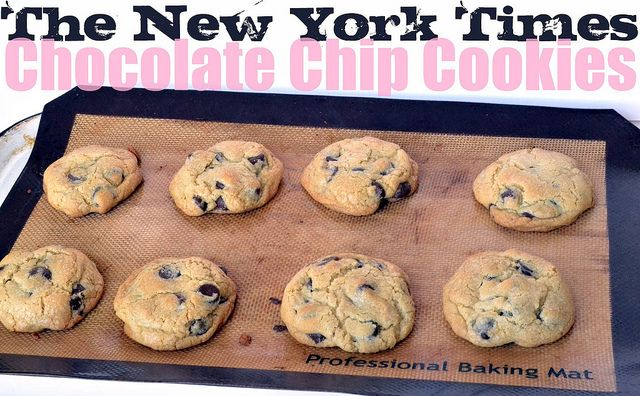 The New York Times Chocolate Chip Cookies (My favorite chewy chocolate ...