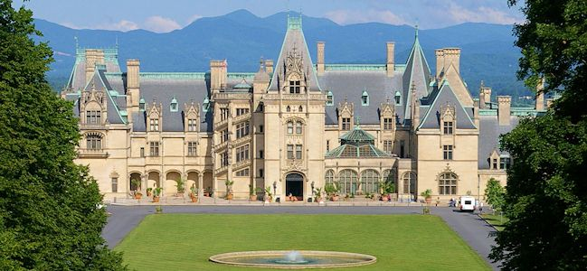 Biltmore Estate in Asheville, N. Carolina