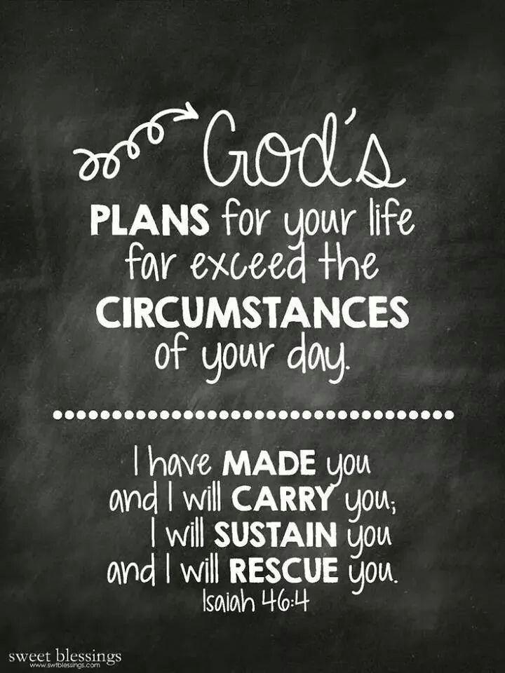 Los planes de Dios para tu vida
