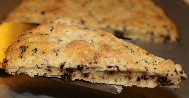 Gluten-Free Chocolate Chip Scones with dairy-free options
