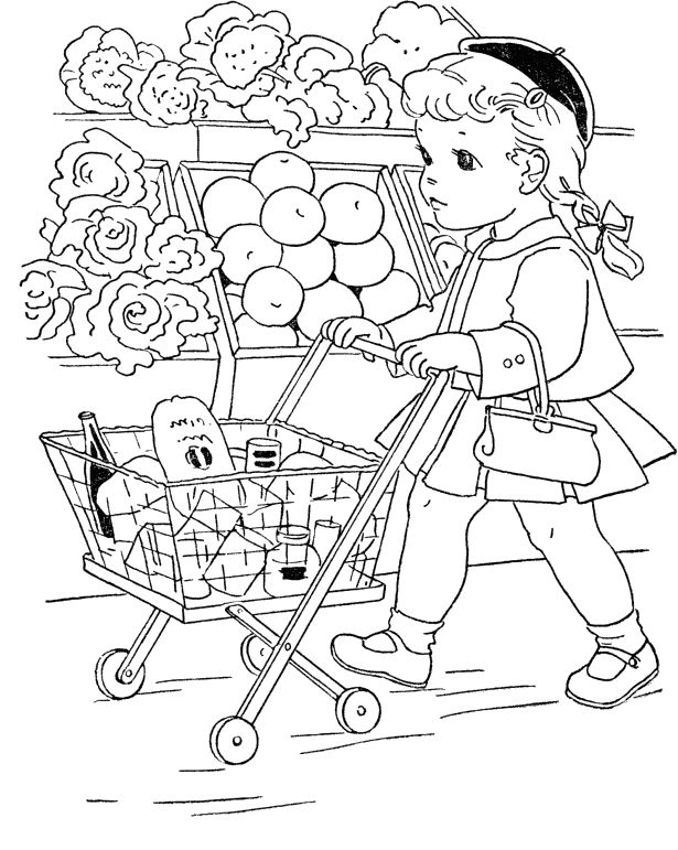 mall coloring pages - photo#7