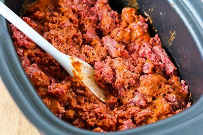 ... -in-the-Crockpot Spicy Ground Beef for Tacos, Burritos, or Taco Salad