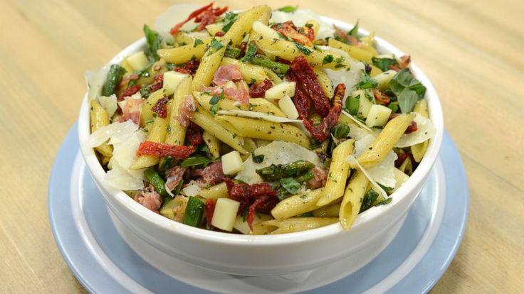 Emeril Lagasse's Roasted Asparagus and Penne Pasta Salad
