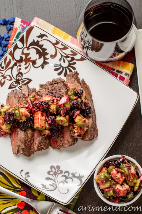 Grilled Steak With Avocado Sauce Recipes — Dishmaps