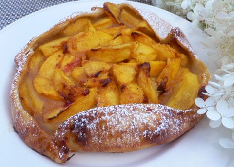 peach_galette.jpg | Food and Recipes | Pinterest