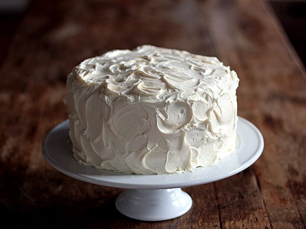 Pumpkin Spice Cake with Cream Cheese Frosting and Caramel