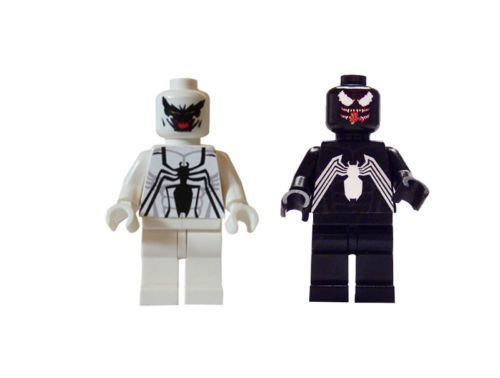 Venom Coloring Pages Lego Venom Spider Marvel Heroes: Anti Venom Spiderman Lego
