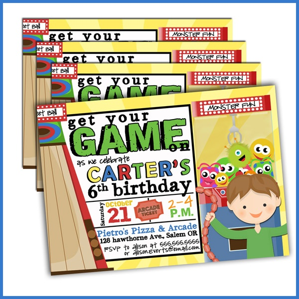 ... com #boy birthday invitations #kids birthday party #boy birthday party