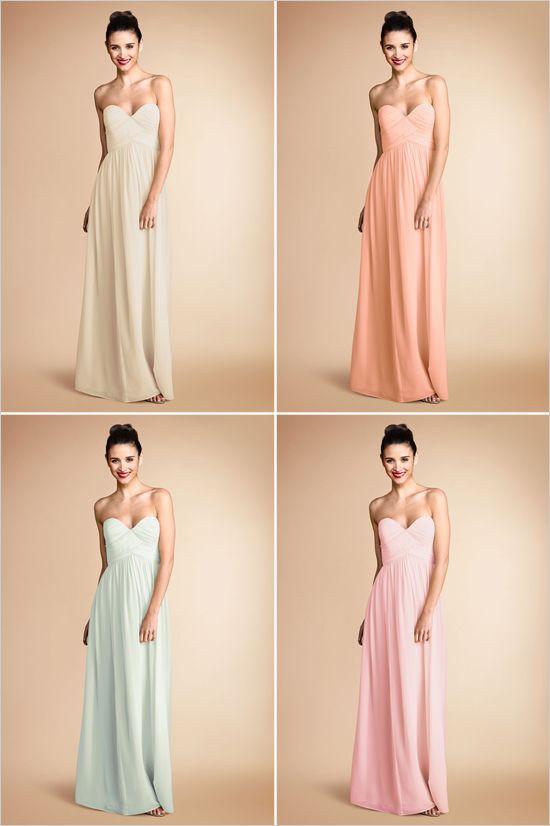 Donna morgan bridesmaid dresses for Donna morgan wedding dresses