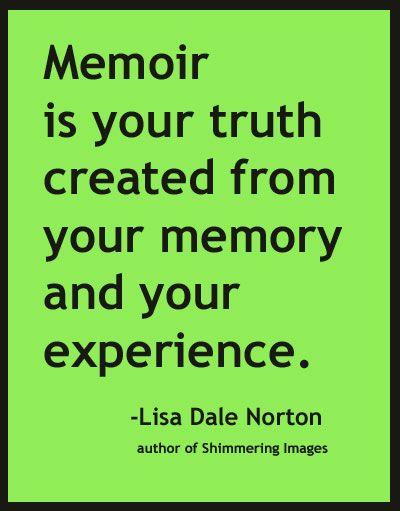 Memoir Examples Essays