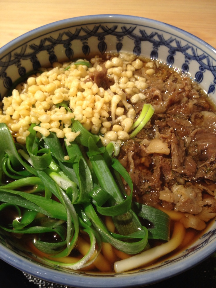 Niku-udon! | FACS: Ethnic food -- for International Foods class | Pi ...